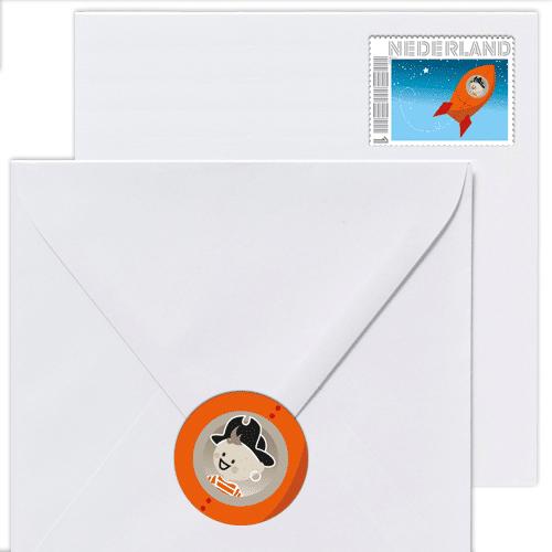gepersonaliseerde postzegel