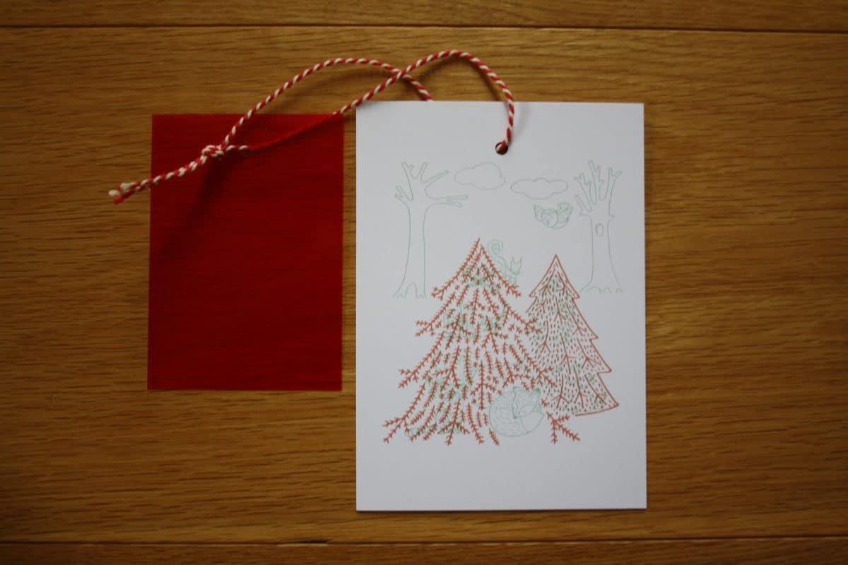 ontdek de geheimen kerstkaart