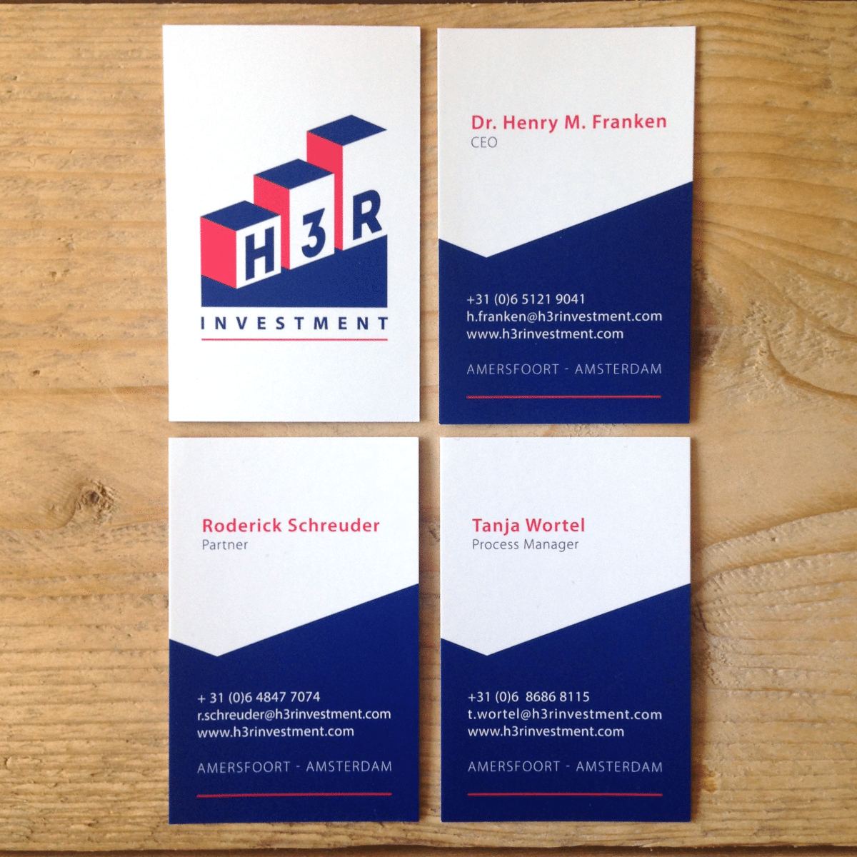 visitekaartjes logo ontwerp