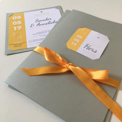 trouwkaart geloftenboekje