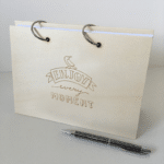 houten agenda planner