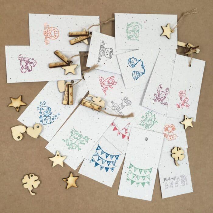 groeikaart bedankje sterrenbeeld horoscoop