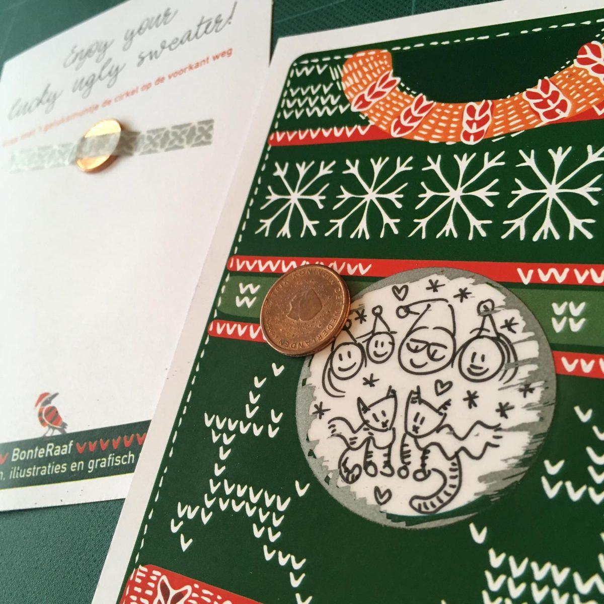 kerstkraskaarten kerstkaart kraskaart