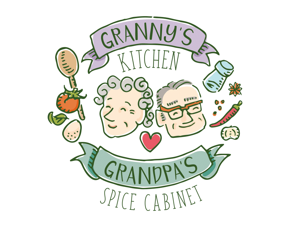 logo illustratie granny's kitchen