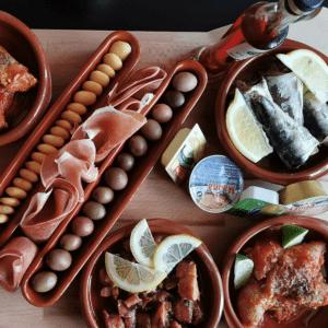 bier en lekkers uit Portugal