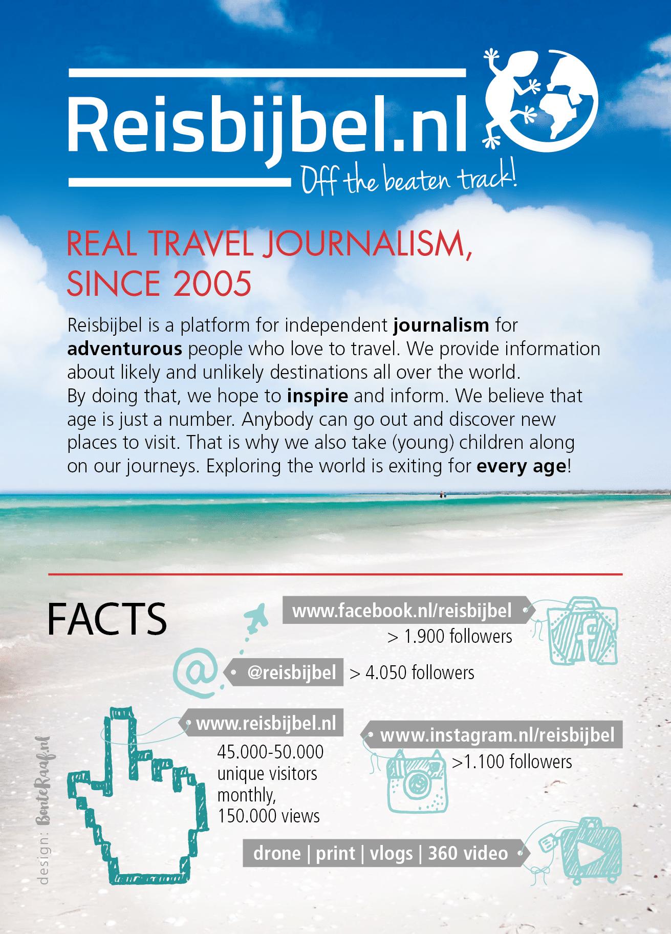 Reisbijbel infographic factsheet