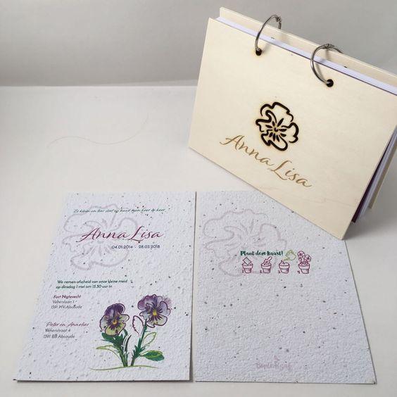 condoleanceboek viooltje
