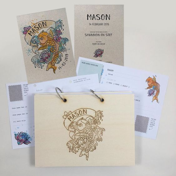 geboortekaartje mason
