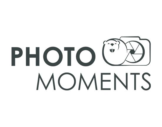 photomoments logo huisstijl ontwerp